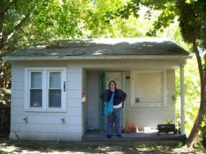 This is the first house I lived in on my mission.  It is such a shack! How did I live there for 6 months!