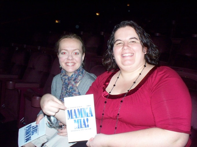 Mamma Mia was amazing!