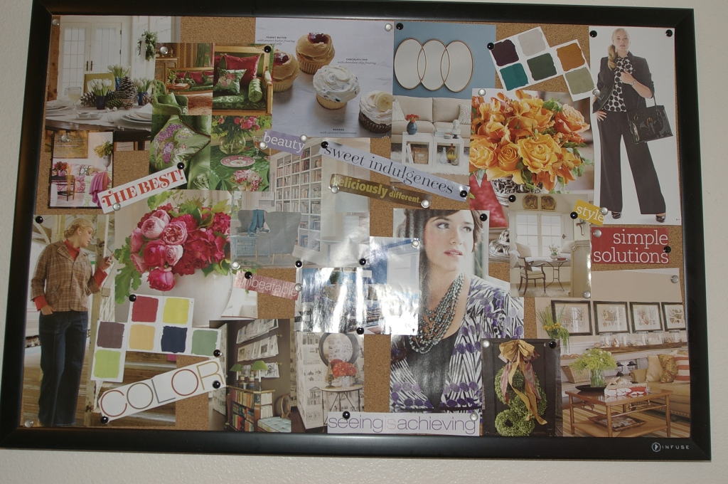this is the work board. It has fashion, flowers, rooms, design, colors, all things I think are beautiful