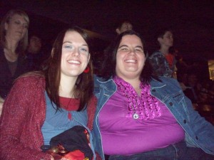 Emily and I at the concert!