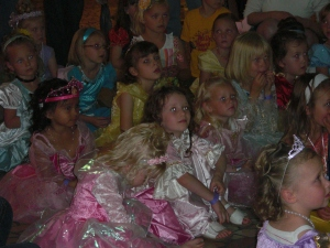 Girls at Princess Festival