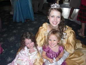 Belle and her princesses