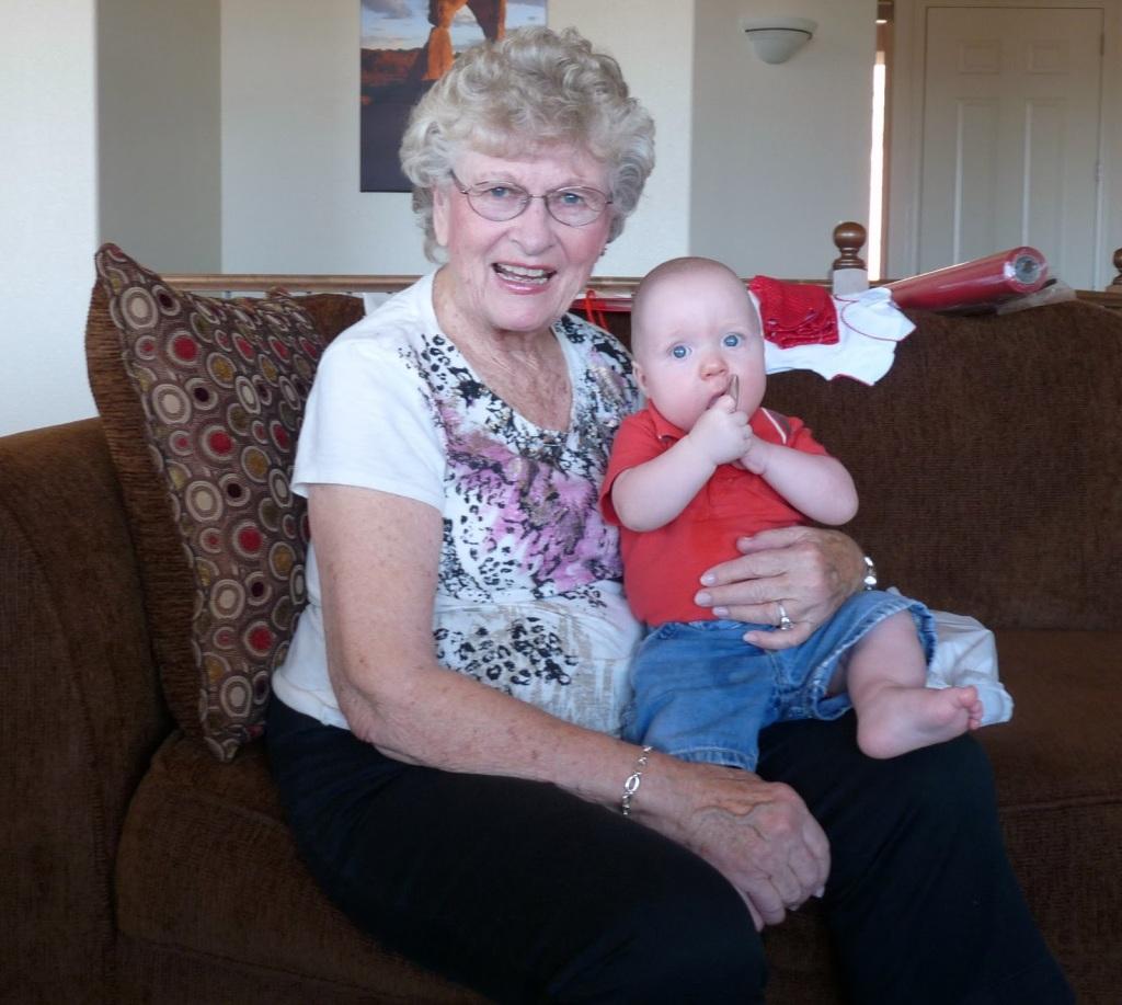 grandma and triplet