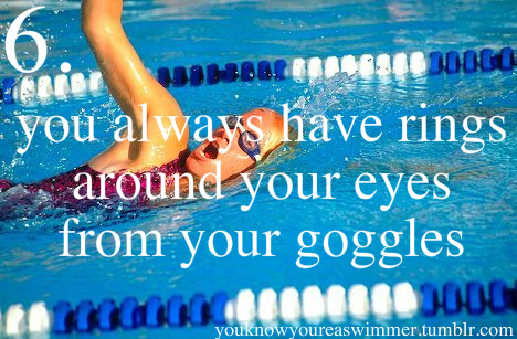 You Know You're a Swimmer If... (2/5)