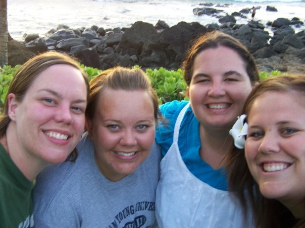 Stephanie, Angie, Camille and I in Hawaii.  Dear friends