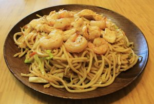 shrimp and chicken choi mein