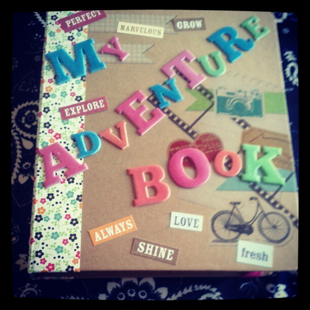 If you've seen the movie Up you should get this adventure book. Isn't it cute?