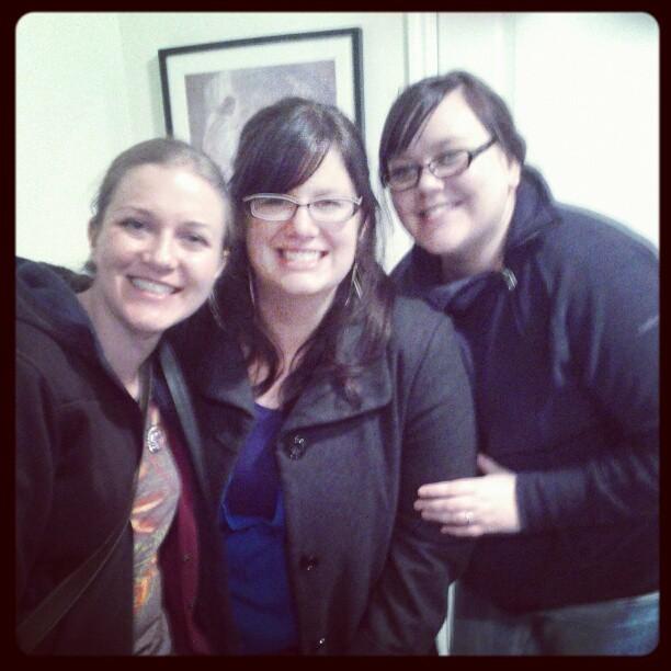Sarah, Megan and Camille