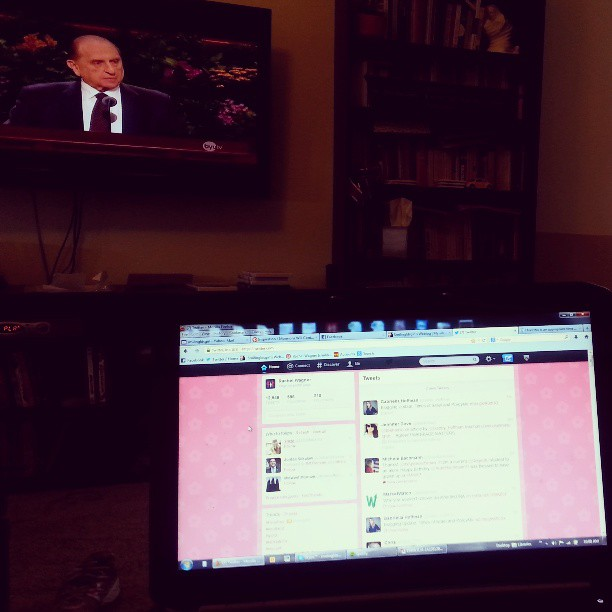 How I watch Conference
