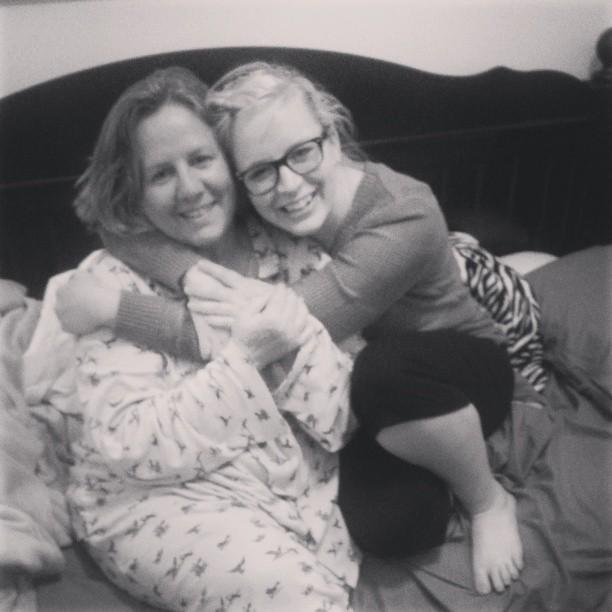 mom and sis