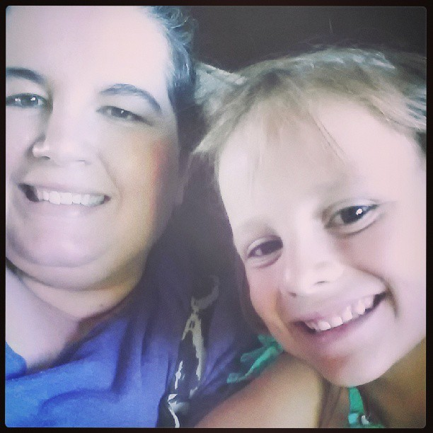 My niece and me