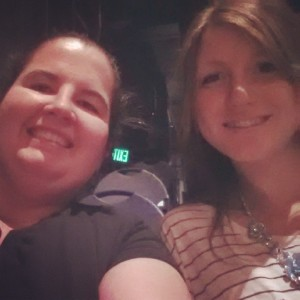 Rachel B and I at Wrinkle in Time.  She's so cool and it was an amazing experience. Like no play I've ever seen