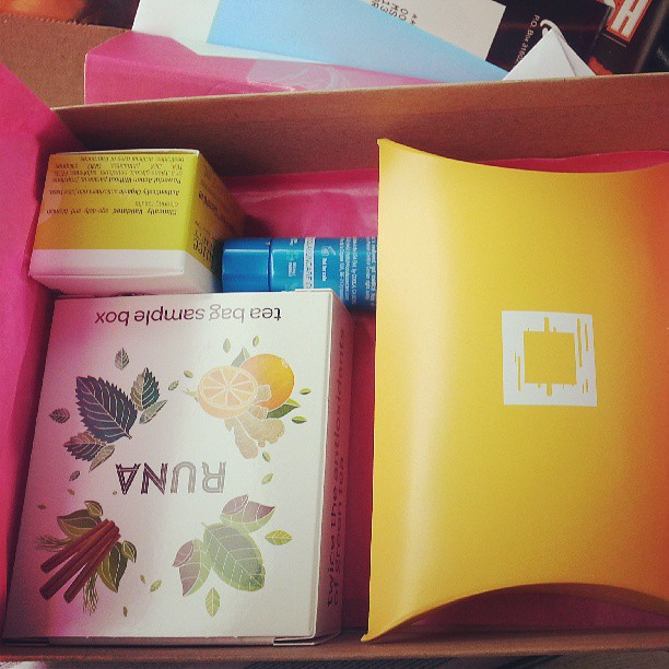 June Birchbox. I loved the apple peel and bark tea