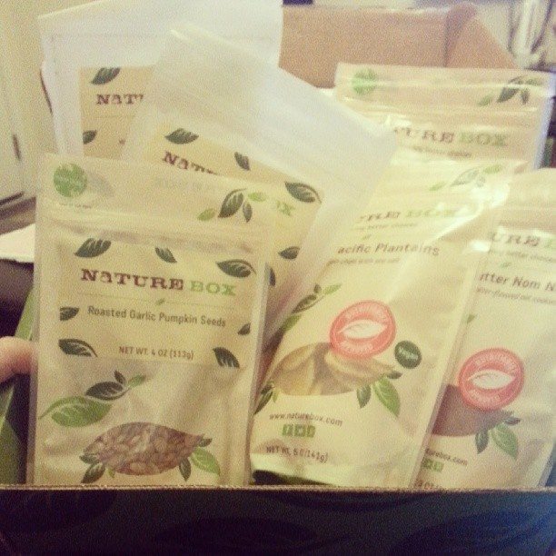 Box Month Continues: Goodies Co and Naturebox