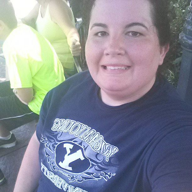 My BYU shirt actually got a lot of questions and comments.  Go Mormons!