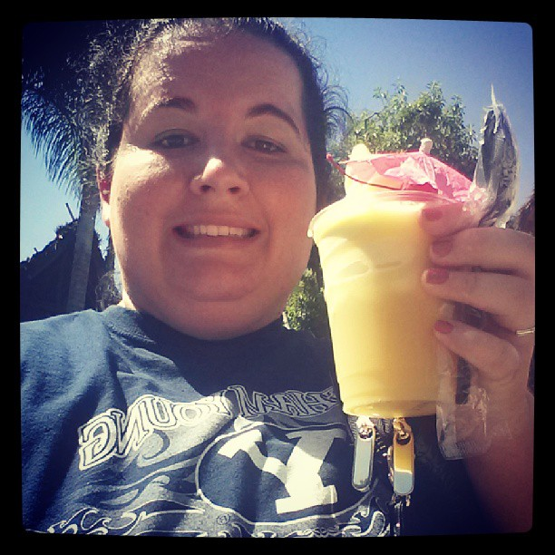 dole whip. Only other place you can get them is the Dole Plantation in my beloved Haleiwa. Been dreaming about them.