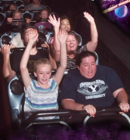 Yeah, space mountain kind of whooped me.  I'm not as young as I once was