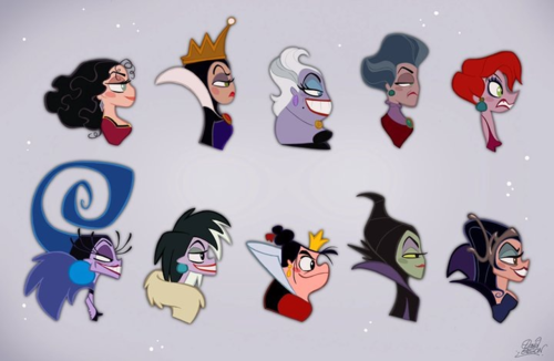 Disney Female Villains