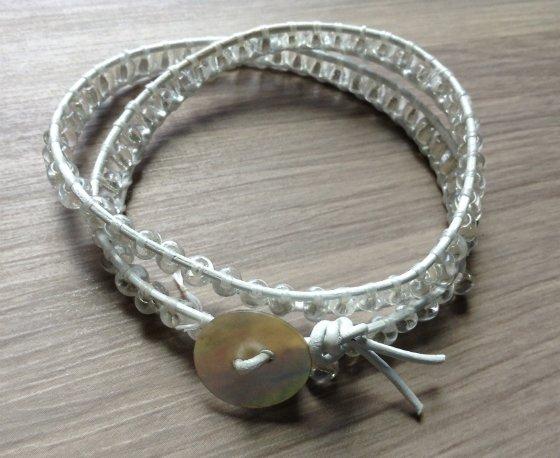 The finished product bracelets