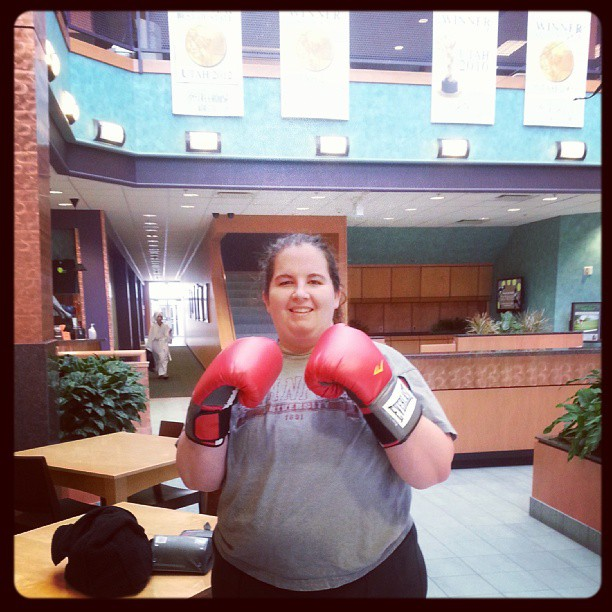 Do something you never thought you could do.  I love MMA (kick boxing) and I'm not too bad at it!