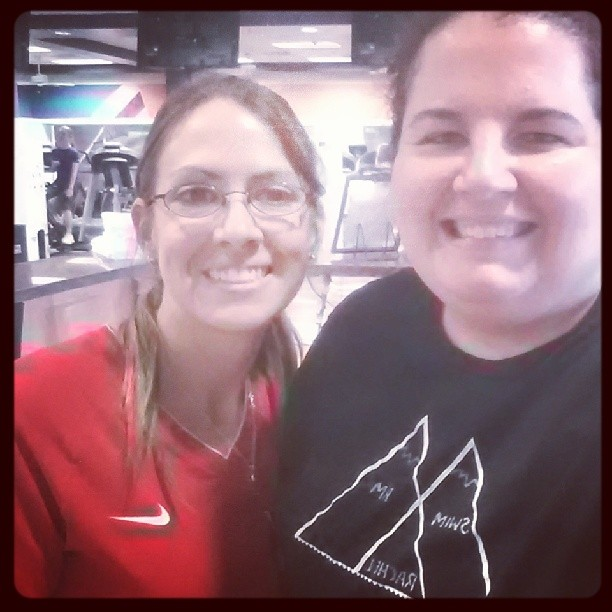 My trainer who has stood by me for 4 years. She is why I go to treehouse and she is one of my rocks.  I really love her.