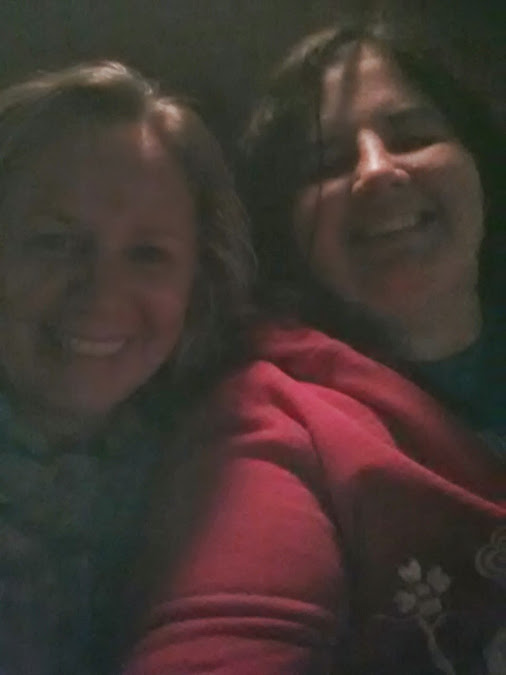 My Mom and I at the play