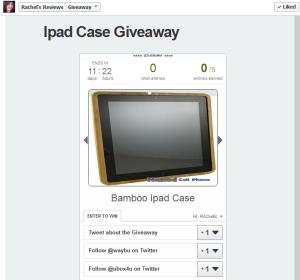 ipad case giveaway