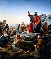 Jesus often had large crowds to teach too