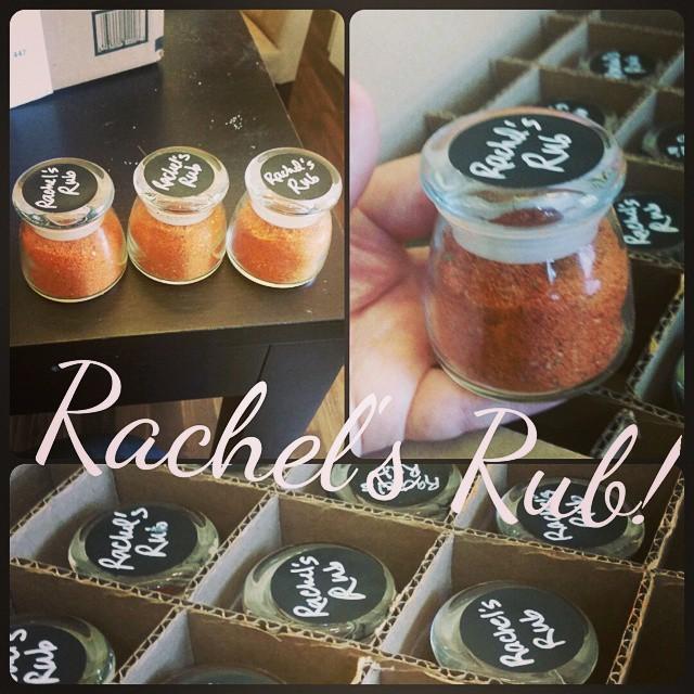 rachel's rub