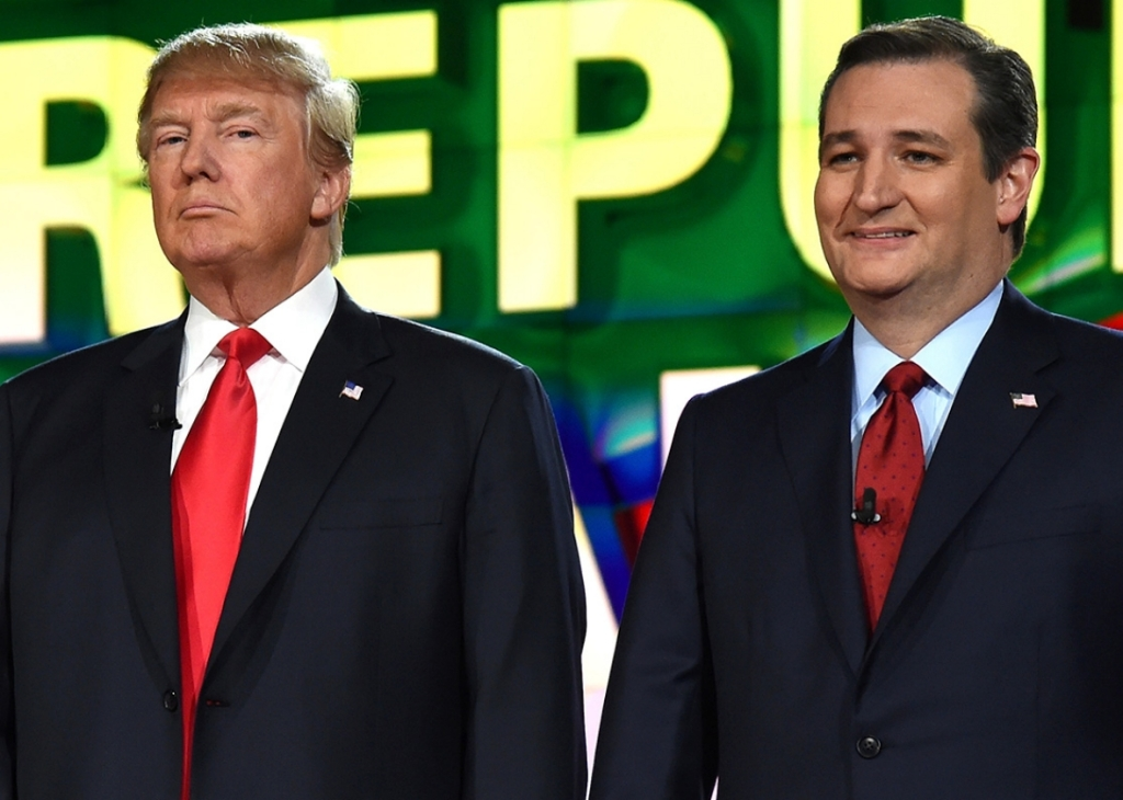 ted and trump