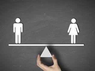 Male equals female