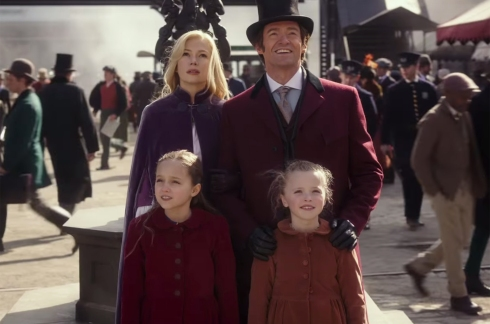 Image result for The Greatest Showman barnum and charity kids