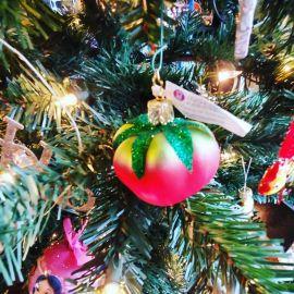 rotten tomato ornament